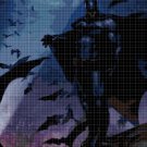 Batman4 cross stitch pattern in pdf DMC