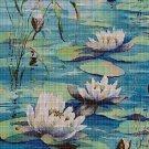 Water lilies 2 cross stitch pattern in pdf DMC