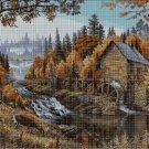 Watermill 6 cross stitch pattern in pdf DMC