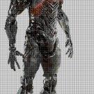 JL Cyborg cross stitch pattern in pdf DMC