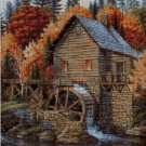 Water mill  cross stitch pattern in pdf ANCHOR