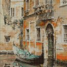 Venice cross stitch pattern in pdf DMC