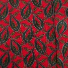 STEFANO RICCI NECKTIE Silk Tie Red Green