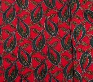 STEFANO RICCI NECKTIE Silk Tie Red Green