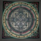 Hand Painted Tibetan Kalachakra Mandala Compassion thangka Painting from Nepal 34/34cm