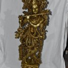 Statue of Lord Krishna Hand Made From Nepal Height 29 Inch