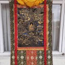 Buddha Life Story Hand Painted Tibetan Canvas Cotton Thangka Painting from Nepal 164cm/100cm