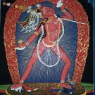 Vajrayogini Hand Painted Fine Quality Thangka Painting From Nepal 44/33 cm