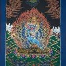 Yamantaka Hand Painted Fine Quality Tibetan Thangka Painting From Nepal