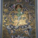 Green Tara Hand Painted Tibetan Wall Hanging Thangka Painting