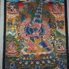 MAHOTTARA HERUKA and Painted Fine hand painted Canvas Cotton Tibetan thangka from Nepal