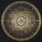 Tam Mandala Hand Painted canvas Cotton Tibetan Thangka Painitng From Nepal