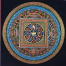 Lotus Mantra Mandala Hand Painted canvas Cotton Tibetan Thangka Painitng From Nepal