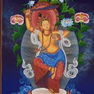 Dancing Manjushri Hand Painted Fine Quality Tibetan Thangka Painting From Nepal