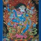 Simhamukha Yogini The lion Face Dakini Female Tantric Buddha Hand Painted Thangka From Nepal