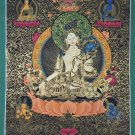 White Tara Hand Painted Fine Quality Thangka Painting From Nepal