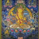 Manjushri Hand Painted Fine Quality Tibetan Thangka Painting From Nepal