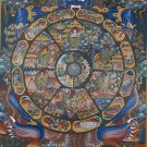Wheel of life samsara thangka Master Piece Thangka Painting