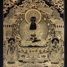 Amitabha Buddha thangka set hand painted in canvas cotton made in nepal