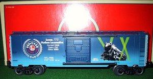 Lionel Trains 39201 Hudson 773 Century Club Box Car - 2000 Edition - New OB - O Gauge