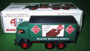 Eastwood 288500 American Flyer Railway Express Agency Die Cast Mack Truck 1:64 New OB