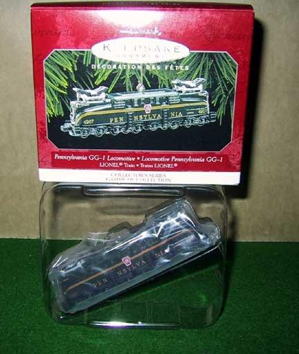 Lionel Hallmark Pennsylvania GG-1 Locomotive Canadian Issue Die Cast Keepsake Ornament New OB