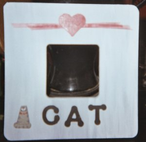 Love your Cat Picture Frame