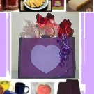 Gourmet Purple HEART Gift Bag