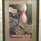 Framed Official Longwood Arts Show 2011 Framed -Unsigned