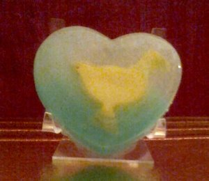 Love a Ducky in HEART all natural olive oil soap bar