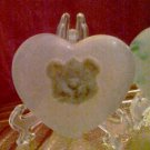 Bear in your HEART soap bar of gentle olive oil base