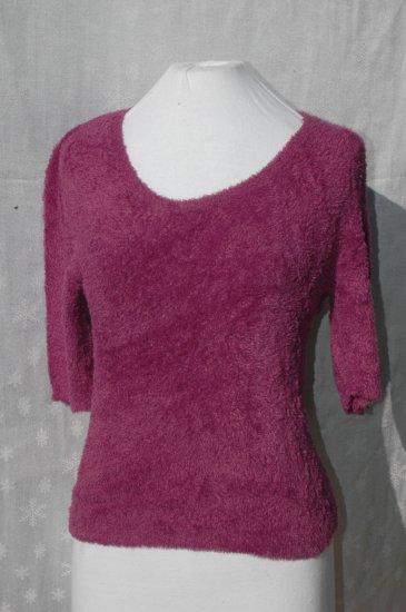 CACHE purple Scoop Neck SUPER SOFT Stretch Top - L