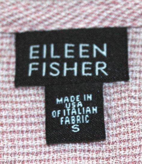EILEEN FISHER Pink Sleeveless Column Dress - Size Small