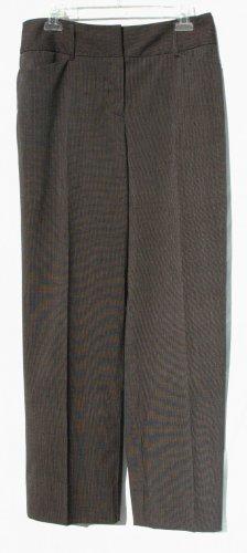 CHICO's Black Pinstripe Slacks - Chicos Size 1.5
