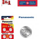 4 x Panasonic LR44 Button Coin Cell 1.5V Alkaline Battery exp 06-2023 SR44 AG13