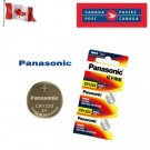 2 x Panasonic CR1220 Button Coin Cell 3V Lithium Battery Batteries exp 12-2029