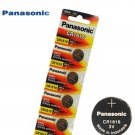 5 x Panasonic CR1616 Button Coin Cell 3V Lithium Battery Batteries exp 12-2029