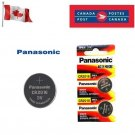 2 x Panasonic CR2016 Button Coin Cell 3V Lithium Battery Batteries exp 12-2030