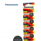 5 x Panasonic CR2016 Button Coin Cell 3V Lithium Battery Batteries exp 12-2030