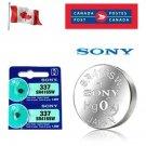 2 x Sony 337 SR416SW 280-75 LR416 1.55V Silver Oxide Watch Battery exp 09-2028
