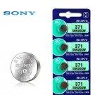 5 x Sony 371 SR920SW AG6 370 SR69 SR921 1.55V Watch Battery exp 12-2028 Silver