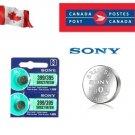 2 x Sony 399 395 SR927SW LR927 AG7 1.55V Silver Oxide Watch Battery exp 12-2028