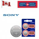 2 x Sony CR1616 Button Coin Cell 3V Lithium Battery Batteries exp 2030 L28