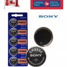 5 x Sony CR2032 Button Coin Cell 3V Lithium Battery Batteries exp 2030 DL2032