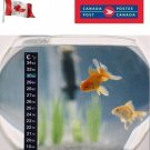 Aquarium Thermometer Fish Tank Fridge Sticker Temperature Stick-On