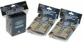 Max Protection Black Deck Box w/ 2 Packs of Max Pro Sleeves