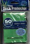 YUGIOH CARD PROTECTORS, PACK OF 50, SERPENT GREEN