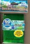 YUGIOH CARD PROTECTORS, PACK OF 50, FANTASY GREEN