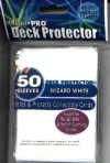 YUGIOH CARD PROTECTORS, PACK OF 50, WIZARD WHITE