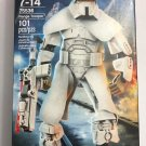 Lego Star Wars Buildable figures 75536 - 75526 - 75117 - 75118